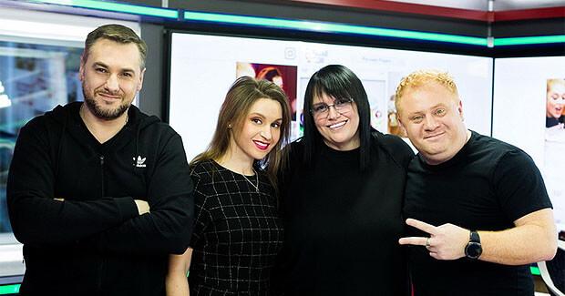 Алла Духова стала гостьей утреннего шоу «Русские Перцы» - Новости радио OnAir.ru