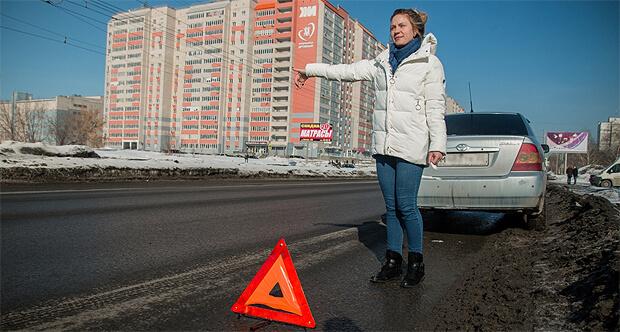 «Дорожное радио» в Барнауле провело акцию «Рыцарь дня» - Новости радио OnAir.ru