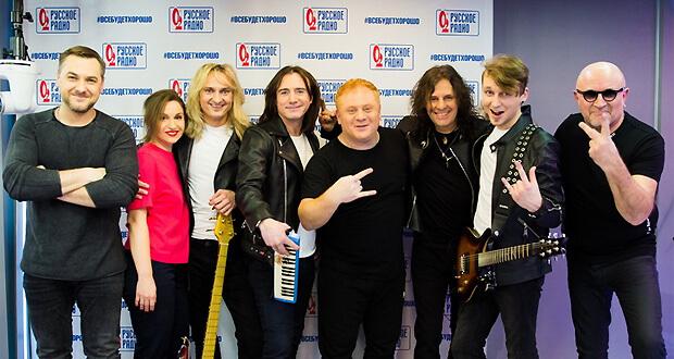 Группа «Земляне» дала живой концерт в рамках проекта «Золотой Микрофон» на «Русском Радио» - Новости радио OnAir.ru