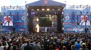 OnAir.ru - Зрители шоу - Концерт звезд Шансона в Лужниках: Сделано с любовью!