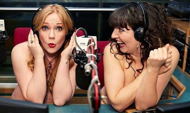 Yorkshire duo Jenny Eells and Kat Harbourne undress with a guest for revealing confessions & conversations - OnAir.ru