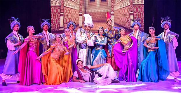 «Восток FM» представляет: музыкально-цирковое шоу «Волшебная лампа» - Новости радио OnAir.ru