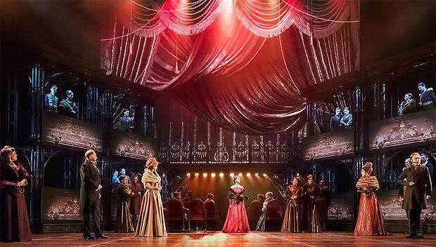 При поддержке Радио Romantika в Московском театре оперетты проходят представления мюзикла «Анна Каренина» - Новости радио OnAir.ru