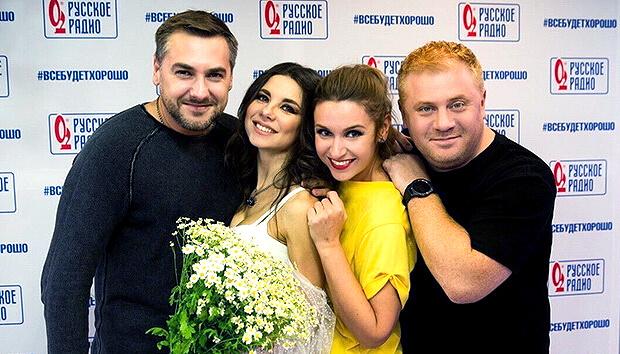 Анна Плетнёва дала живой концерт в «Золотом микрофоне» на «Русском Радио» - Новости радио OnAir.ru